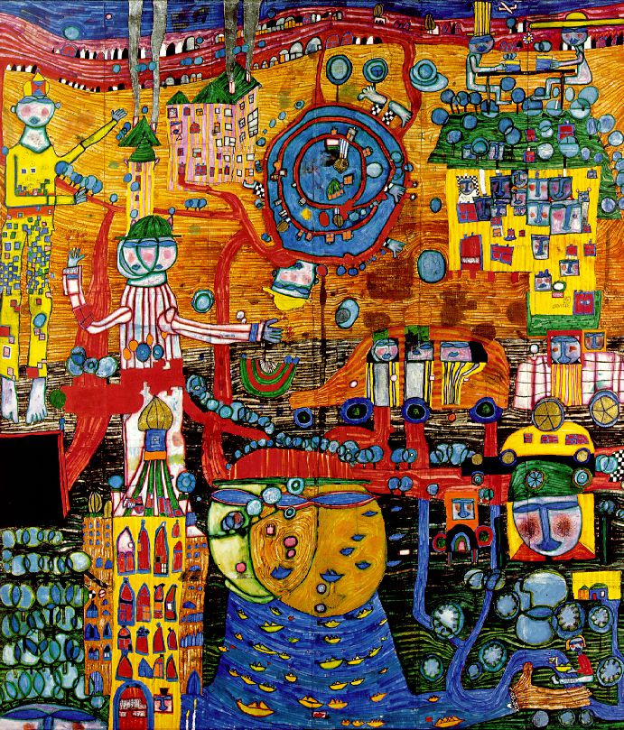 Friedensreich Hundertwasser This Is A What